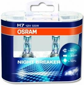 64210 NBR-DUO COPPIA LAMPADINE OSRAM NIGHT BREAKER H7-0