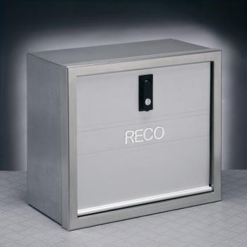 70041015 Cassa porta attrezzi Cornice inox satinata Sportello in alluminio anodizzato Corpo in lamiera pre-zincata e verniciata metallizzata DIMENSIONI 50X35-0