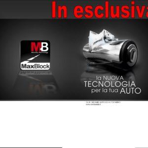 1010 MAX BLOCK ANTIFURTO MECCANICO PER AUTO E FURGONI-0