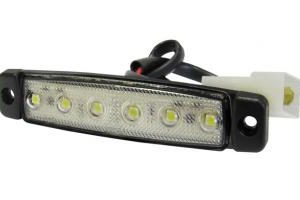 35942000 SEGNALATORE LATERALE UNIVERSAL APPLICATIONS / MARKER-6 LED 24V INCOLORE-0