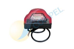 000867 FANALINO LUCE TARGA LED-0