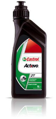 2T OLIO MOTORE CASTROL ACTEVO 2T-0