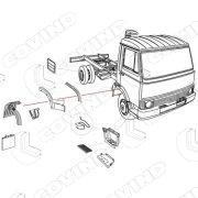 079/201 parafango anteriore sx turbozeta Codice Originale:9068642 46613218-0