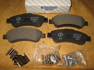 77364016 PASTIGLIE FRENO POSTERIORI FIAT DUCATO MTJ 06-BOXER HDI 06--0