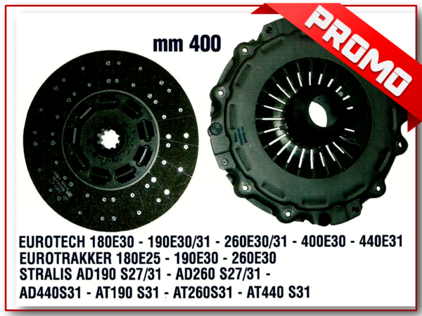K2026 KIT FRIZIONE DIAMETRO DISCO 400mm-0