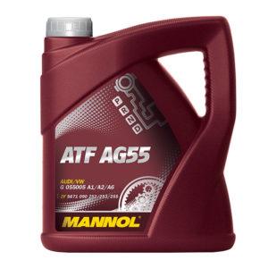 AG55/4 LATTA OLIO ATF CAMBIO AUTOMATICO LITRI 4 MANNOL (OLTRE I 100 LITRI TRASPORTO GRATIS IN TUTTA ITALIA)-0