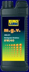OV001-104 LATTA OLIO MOTORE AUTO 5W40 LITRI 1 EUROLUBE-0