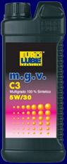 OV001-106 LATTA OLIO MOTORE AUTO 5W30 LITRI 1 EUROLUBE-0
