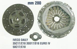 K2065 KIT FRIZIONE IVECO DAILY 2004- 3000 TD 136 HP-2432