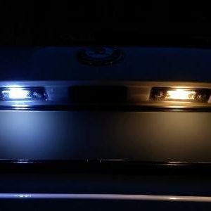 0065 COPPIA FANALI LED LUCE TARGA SMART -0