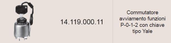 1411900011 COMMUTATORE AVVIAMENTO FUNZIONI COBO-0