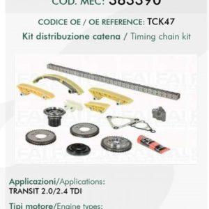 383390 KIT DISTRIBUZIONE FORD TRANSIT TCK47-0