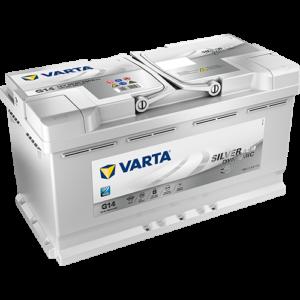 Batteria Varta G14 a GEL 95Ah EFB 580 500 080 con sistema Start & Stop
