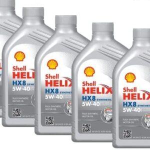 Olio Motore Shell Helix HX8 5W40 Formato da 5 litri