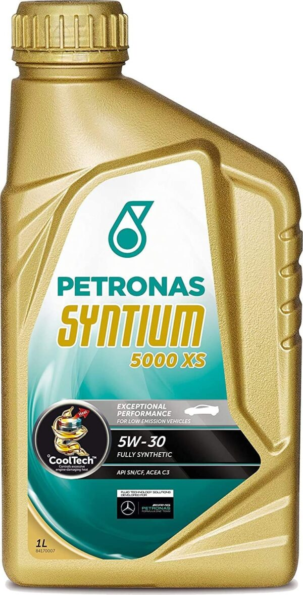 Syntium Lubrificante 5000 XS 5W30 olio motore per auto