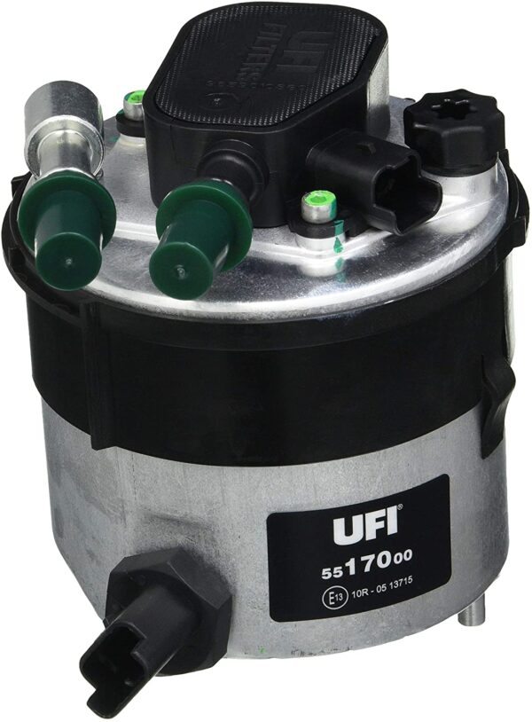 Il filtro gasolio UFI FILTERS per motori Multijet garantisce elevati livelli di separazione di acqua dal gasolio.
